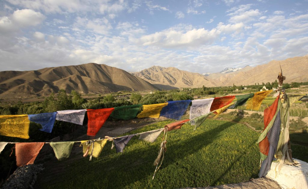 Prayer flags at Stok Village House (3)