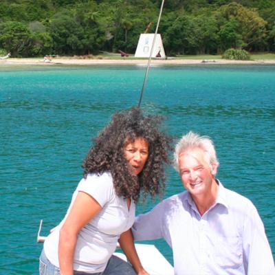 Joro Experiences Te Mauri Promo Hongi Meet The Guides V Pete and Takutai Beach Maori Eco Tours Aerial View New Zealand